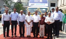 AUMA India donates two meal distribution vans