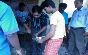 Flood Relief by Akshaya Patra Guwahati