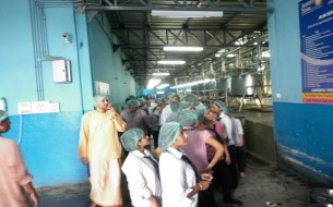 A visit to Akshaya Patra by Students of Royal Group of Institutions