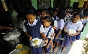 BHEL Contributes to Akshaya Patra's Mid-Day Meal Programme