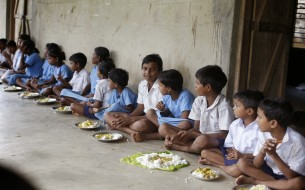 NGO caters meals for school kids